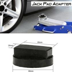 Car Rubber Jack Pad Frame Protector Guard Adapter Jacking Disk  Black