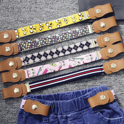 Elastisk spänningsfri midjebälte Jeans med midjeband i stretch