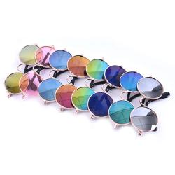 Mode Hundkatt Husdjur Glasögon Solglasögon Little Dog Eye-wear Phot