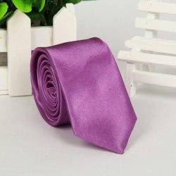Ny Classic Solid Plain med 22 färger Jacquard Woven Silk Blend