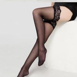 New Sexy Fishnet Stocking Pantyhose Silicone Hollow Elastic Sto Black