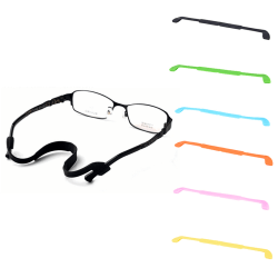 Silikonglasögon Glasögon Solglasögon Rem Sportbandsladd H Black 22CM