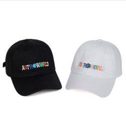 Unisex Astroworld Baseball Caps Travis Scott Unisex Hip Hop Hat Black