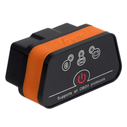 Vgate iCar 2 ELM327 Bluetooth V3.0 OBDII Car Diagnose Scanner Co One Size