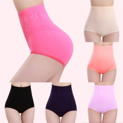 Kvinnor med hög midja och underbyxor Shapewear Panty Body Shaper Control Sli