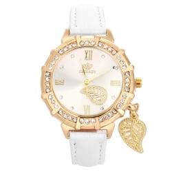 Armbandsur Diamant & Blad Vit