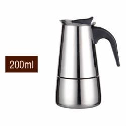 Espresso Kaffebryggare i rostfritt stål 200ml