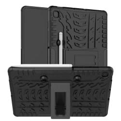 Fodral med däckspårmönster och pennhållare till Samsung Galaxy