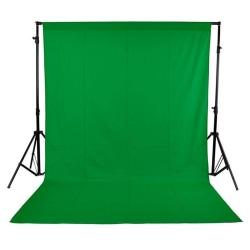 Foto bakgrundsduk grön