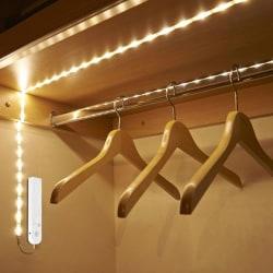 Garderobsbelysning LED med pir 1 meter