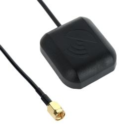 GPS antenn aktiv - Magnetfot - SMA hane