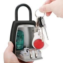 Hänglås med sifferkod för att säkert låsa in nycklar