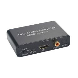 HDMI Audio Return Channel & D/A-omvandlare