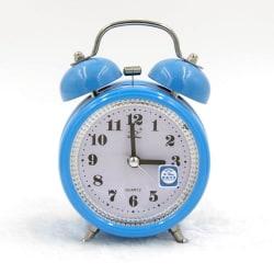 Klassisk väckarklocka med belysning