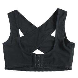 Korrigerande hållningsstöd för rygg och axlar, strl: S, svart