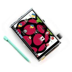 "LCD Touchscreen Skärm 3,5"" Raspberry Pi"