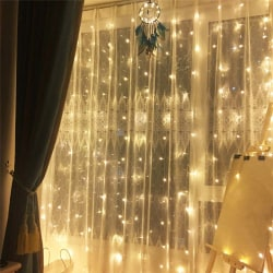LED Gardin 3x3 meter - varmvit