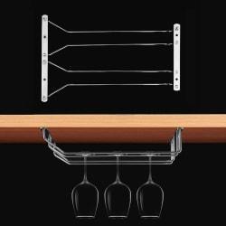 MICLAN Vinglashållare 2 Rader 34x21.8x11.6cm