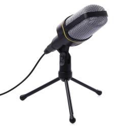 Mikrofon med 3.5mm kontakt - Svart