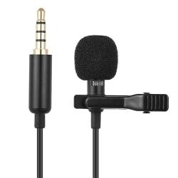 Mikrofon med sladd till mobiltelefon