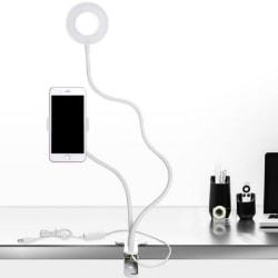 Mobilhållare med Led-lampa