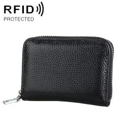 Plånbok dragkedja RFID