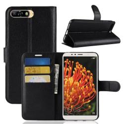 Plånboksfodral med ställ Huawei Y6 2018 Svart