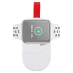 Portabel trådlös laddare till Apple Watch Series 5/4/3/2/1 - Vit