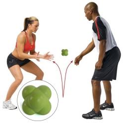 Reaktionsboll - Hexagon, rolig och bra träning för reaktionsför
