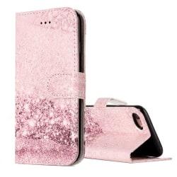 Rosa Plånboksfodral iPhone 7 / 8 / SE 2020