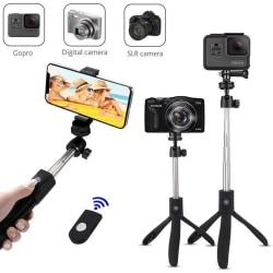 Selfie-stick med tripod