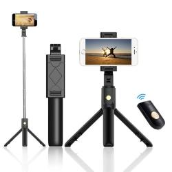 Selfie-stick med tripod - Bluetooth