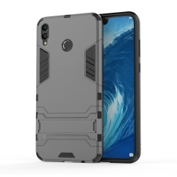 Shockproof Fodral med ställ Huawei Honor 8X Max Grå