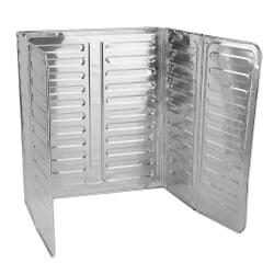 Stänkskydd för spisen - Aluminium 2-pack