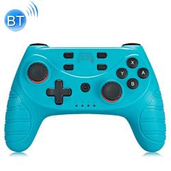 Trådlös handkontroll med Bluetooth till Switch Pro Blå