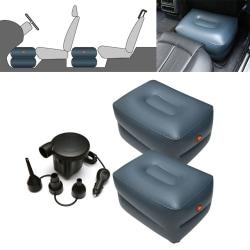 Uppblåsbar pall till bilen 50x40x30cm 2-pack