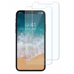 2-Pack härdat glas för iPhone X/Xs