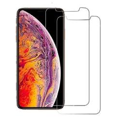 2-Pack - iPhone Xs Max - Skärmskydd i härdat glas