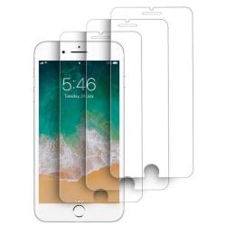3-Pack härdat glas för iPhone 6/6S Plus