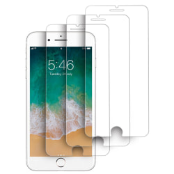 3-Pack härdat glas för iPhone 7/8 Plus