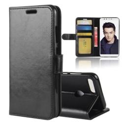 Huawei Honor 9 Lite - Plånboksfodral - Svart