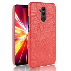 Huawei Mate 20 Lite - Krokodil Mönster Skal - Röd