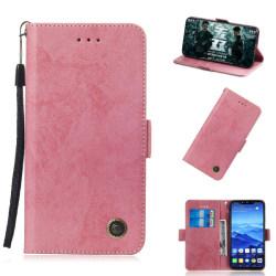 Huawei Mate 20 Lite - Retro Plånboksfodral - Rosa