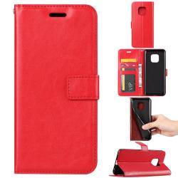 Huawei Mate 20 Pro - Plånboksfodral - Röd