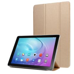 Huawei MediaPad T5 10 - Slimfit Tri-Fold Fodral - Guld