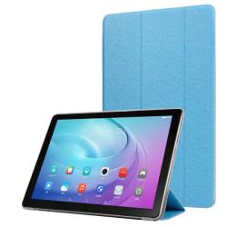 Huawei MediaPad T5 10 - Slimfit Tri-Fold Fodral - Ljus Blå
