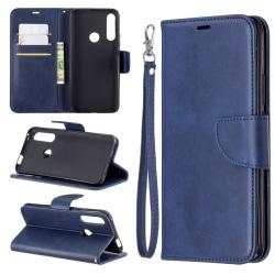 Huawei P Smart Z - Plånboksfodral - Mörk Blå
