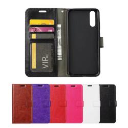 Huawei P20 Pro - Plånboksfodral - Välj Färg! Svart