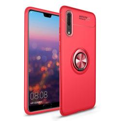 Huawei P20 Pro - Ring Skal - Röd