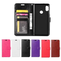 Huawei P30 Lite - Plånboksfodral - Välj Färg! Svart